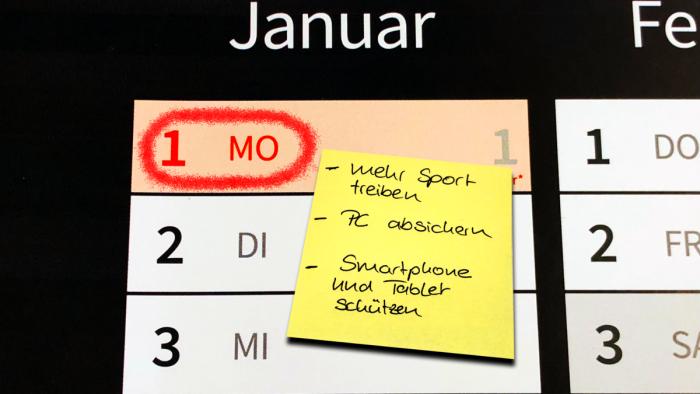 Gute IT-Security Vorsätze für das neue Jahr - IT-Nachrichten